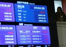 La Bourse de Tokyo a fini proche de l'équilibre mardi. L'indice Nikkei a terminé sur un recul de 9,83 points, soit 0,05%. /Photo d'archives/REUTERS/Toru Hanai