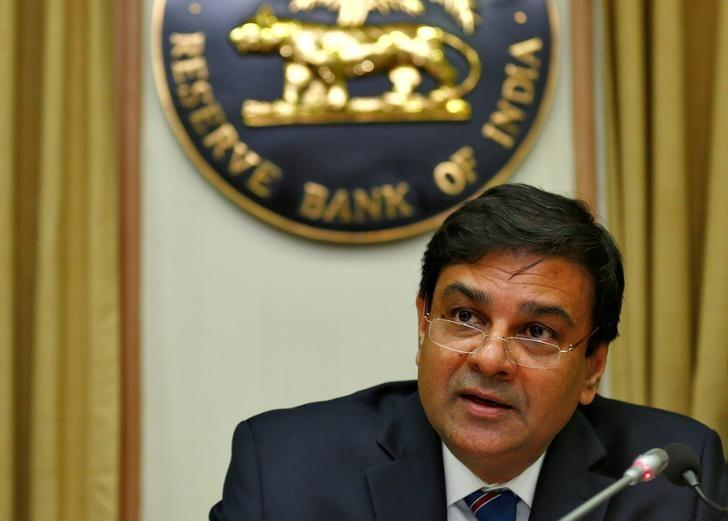 FILE PHOTO: The Reserve Bank of India (RBI) Governor Urjit Patel speaks during a news conference after the bimonthly monetary policy review in Mumbai, December 7, 2016. REUTERS/Danish Siddiqui/File Photo