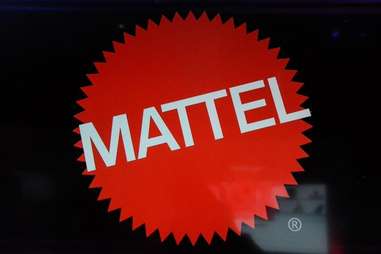 The Mattel company logo is seen at the 114th North American International Toy Fair in New York City, U.S., February 21, 2017. REUTERS/Stephanie Keith