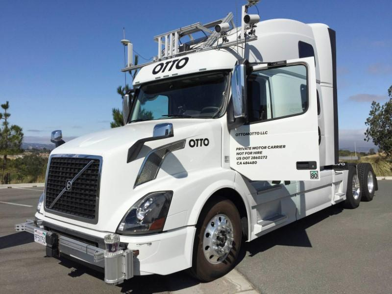 6251669caa0 Uber s trucking ambitions in lower gear after Otto deal - Reuters