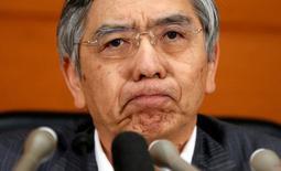 Il numero uno di BoJ Haruiko Kuroda. REUTERS/Toru Hanai