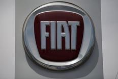 Il logo di Fiat. REUTERS/Jose Luis Gonzalez