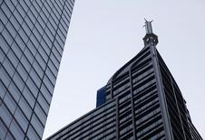The top of the 65-storey Trump International Hotel & Tower is seen in Toronto August 31, 2015. REUTERS/Chris Helgren