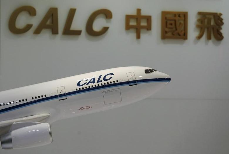A model aircraft is displayed at the reception of the China Aircraft Leasing Group office in Hong Kong, China June 22, 2015.      REUTERS/Bobby Yip