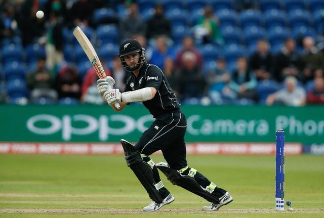Britain Cricket - New Zealand v Bangladesh - 2017 ICC Champions Trophy Group A - Sophia Gardens - June 9, 2017 New Zealand's Kane Williamson in action  Action Images via Reuters / Andrew Couldridge Livepic