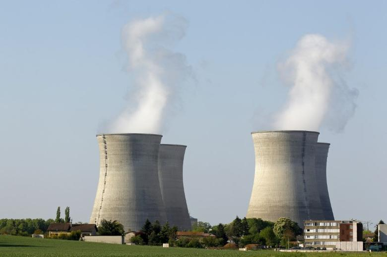 FILE PHOTO: A general view of the Bugey nuclear power plant in Saint-Vulbas, near Lyon April 19, 2011. REUTERS/Benoit Tessier