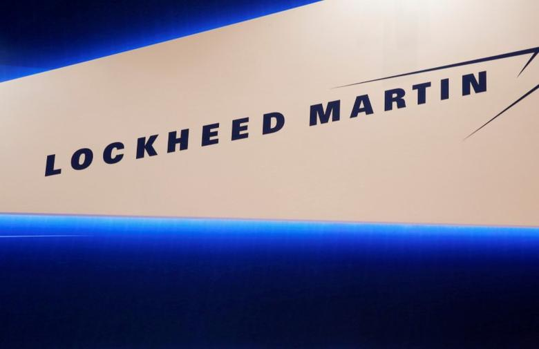 FILE PHOTO -  Lockheed Martin's logo is seen during Japan Aerospace 2016 air show in Tokyo, Japan on October 12, 2016.  REUTERS/Kim Kyung-Hoon/File Photo