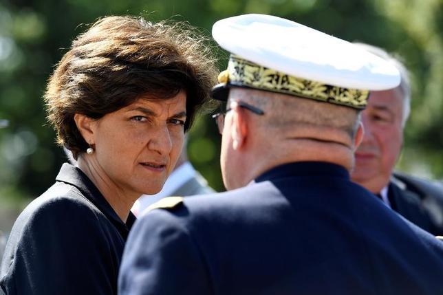 6月20日、フランスのシルビー・グラール国防相(写真)が辞任した。18日撮影(2017年 ロイター/Bertrand Guay)