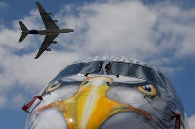 High tech flight at the Paris Airshow