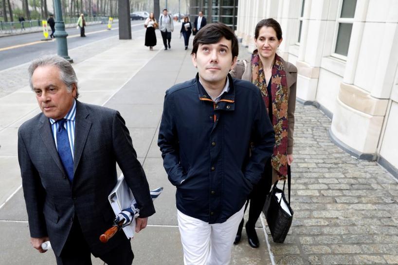 'Pharma bro' Martin Shkreli heads into fraud trial