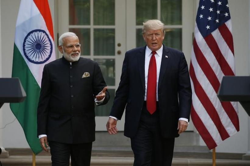 U.S. vice president says Trump-Modi meetings 'historic and productive'