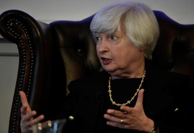 6月27日、イエレン米FRB議長は、金融危機が再びわれわれの時代に起きるとは想定していないとの考えを示した(2017年 ロイター/Hannah McKay)
