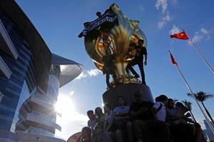 Protests ahead of Hong Kong handover anniversary