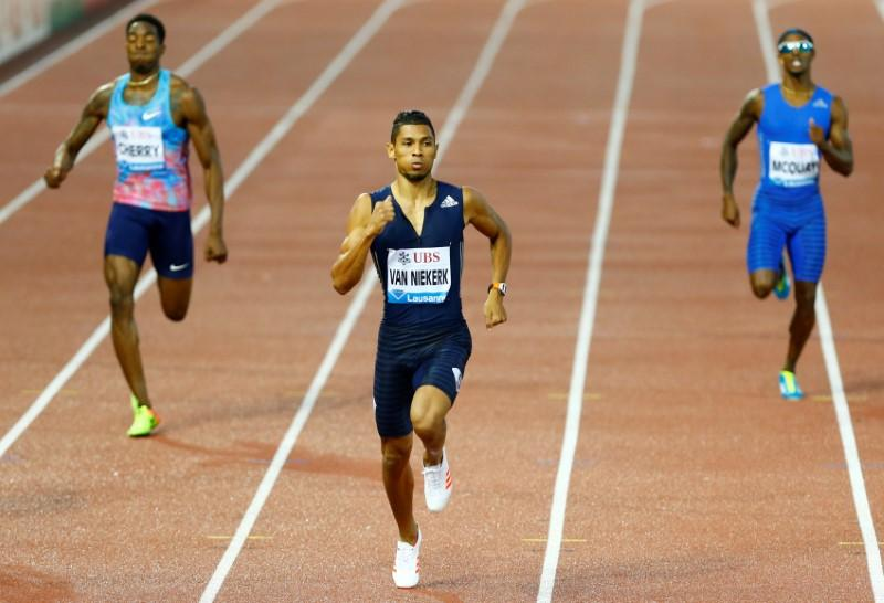 Athletics - South African Van Niekerk wins on international return