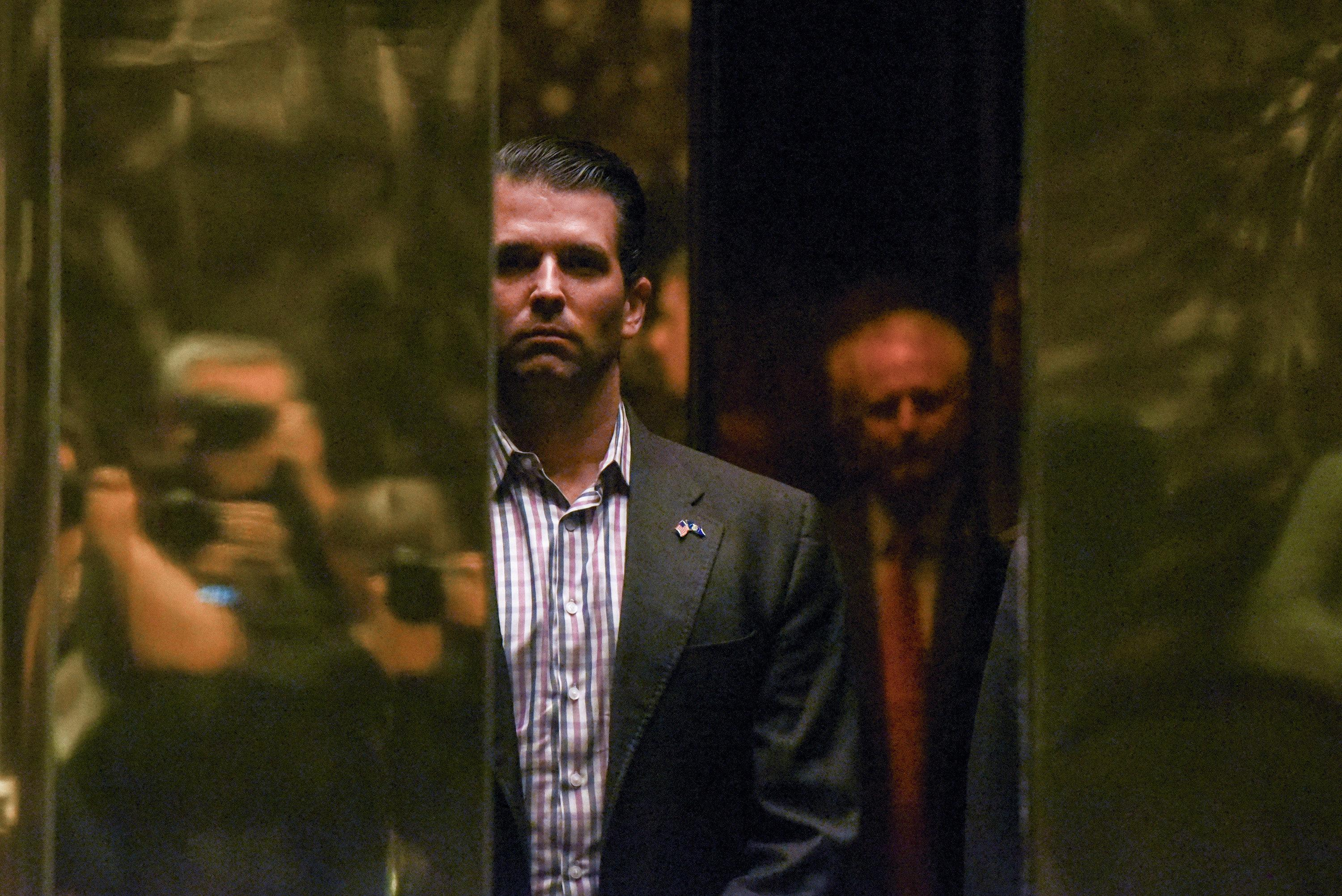 PR specialist says set up meeting between Trump's son, Russian lawyer at a client's request