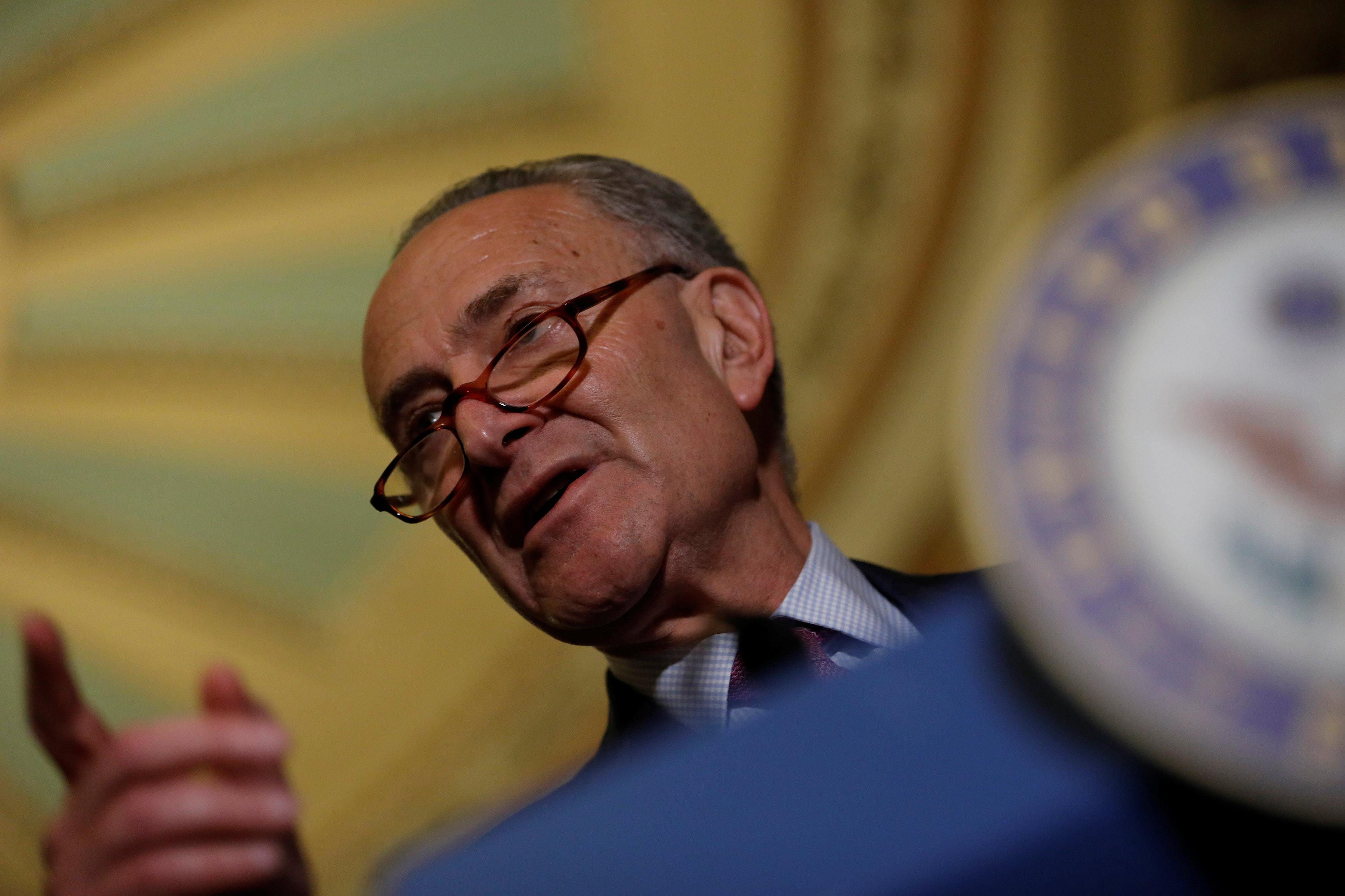Senate's Schumer urges stabilizing health insurance market