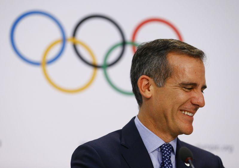 Los Angeles spells out low-cost, bold Olympic future in Games pitch