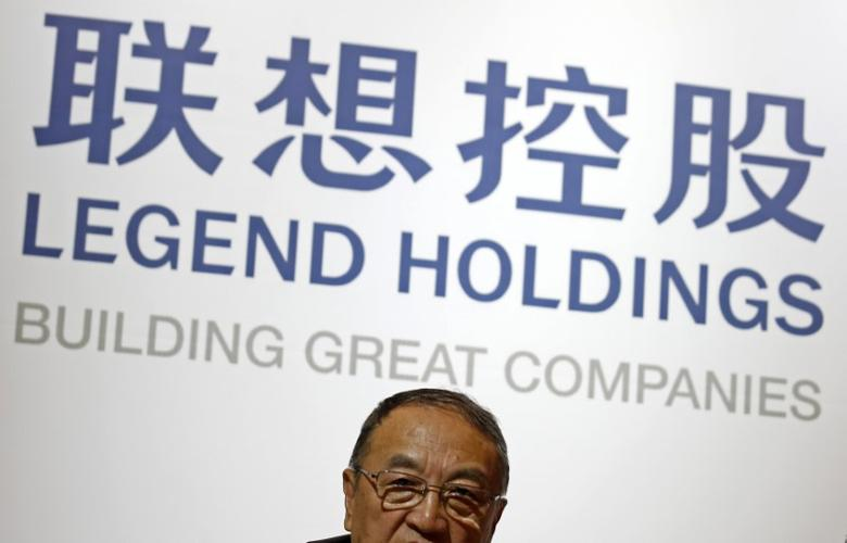 Legend Holdings chairman Liu Chuanzhi attends a news conference on the company's annual results in Hong Kong, China March 30, 2016. Bobby Yip