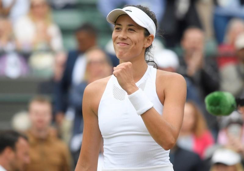 Muguruza races past Kuznetsova into Wimbledon semis