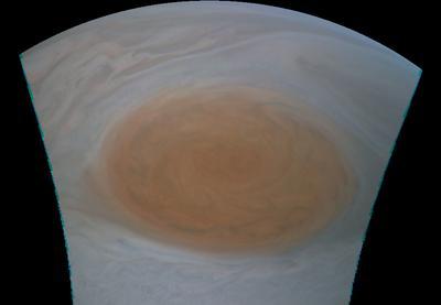 Close-up of Jupiter