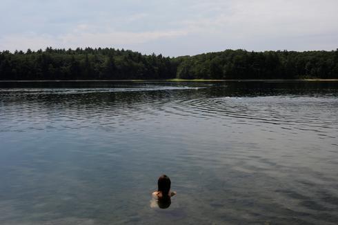 On Thoreau's Walden Pond