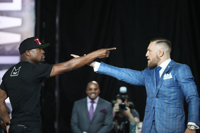 McGregor, Mayweather continue war of words in Toronto