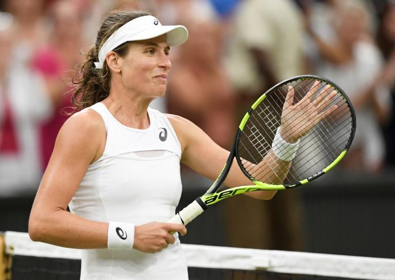 With Venus on horizon, Wimbledon spotlight shines on Konta