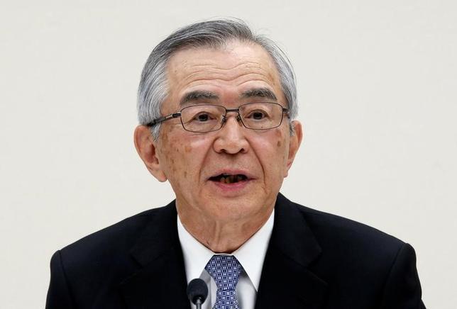 7月13日、東京電力の川村隆会長は、福島第2原発の扱いと、福島第1原発の事故処理作業での懸案の放射性物質トリチウムを含んだ水の処理に関して、東電としての結論を急ぐ考えを示した。写真は4月3日撮影。(2017年 ロイター/Toru Hanai)
