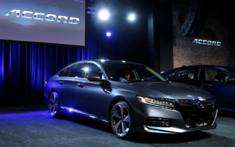 American Honda Motor Introduces The 2018 Accord At Garden Theater In Detroit Michigan US July 14 2017 REUTERS Rebecca Cook
