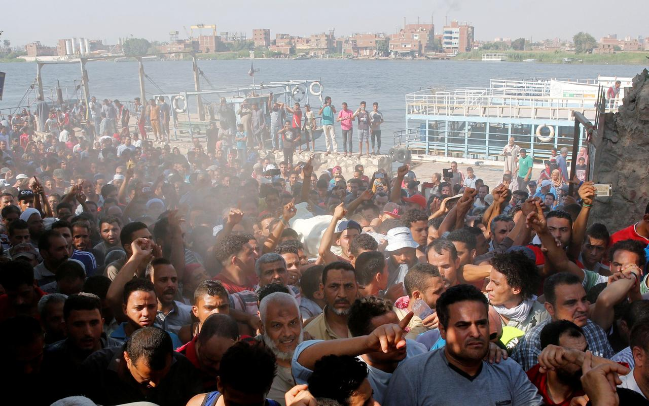 Image result for One killed, 56 injured as Police clash with Egypt's Nile Island's residents
