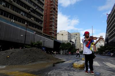 Venezuela's symphony of protests