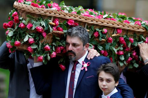 Funeral for Manchester bombing's youngest victim