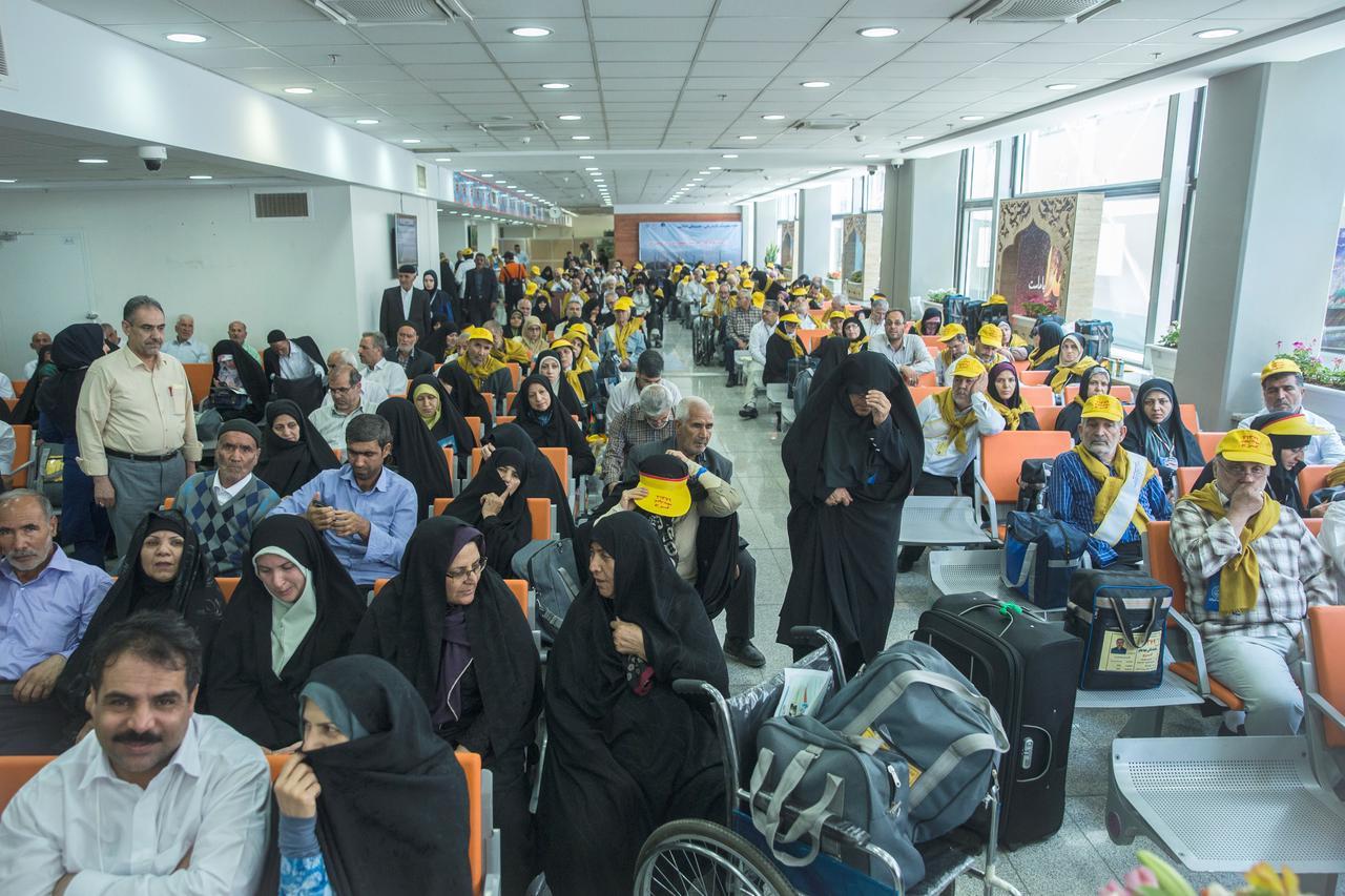 Iranian pilgrims return to haj in Saudi Arabia after boycott last