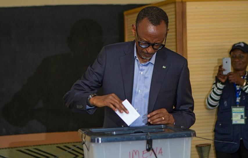 Rwandan polls close in election tipped to hand Kagame third term