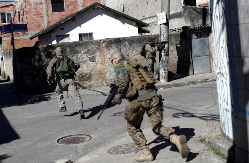 A Year After Olympics Brazils Army Called To Quell Violence In - Brazil's tallahassee
