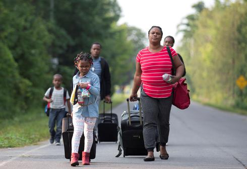 Fleeing to Canada from the U.S.