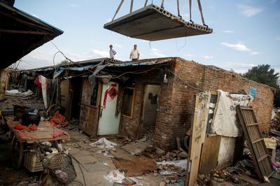 Demolishing Beijing's 'disorderly' development