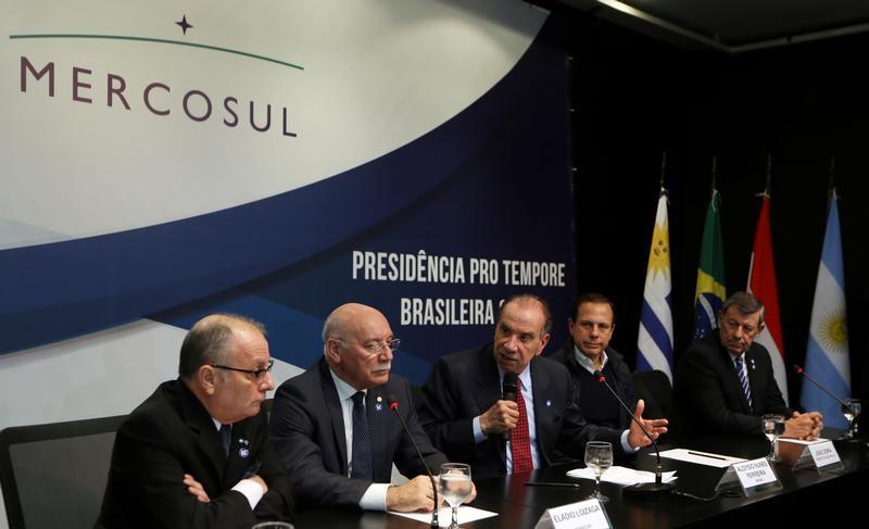 Mercosur bloc rejects use of force in Venezuela