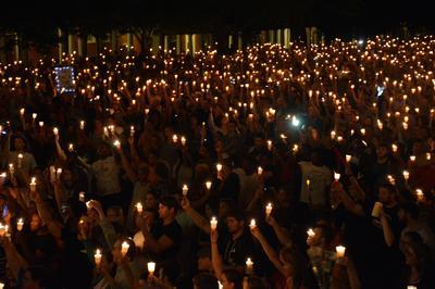 Vigil in Charlottesville