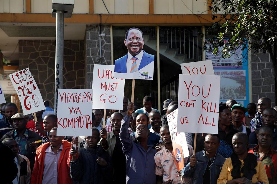 Image result for kenya election court case