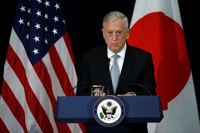 Pentagon's Mattis again seeks to reassure US allies
