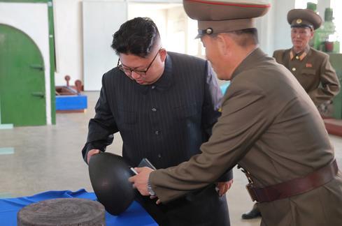 Kim Jong Un's chemistry briefing