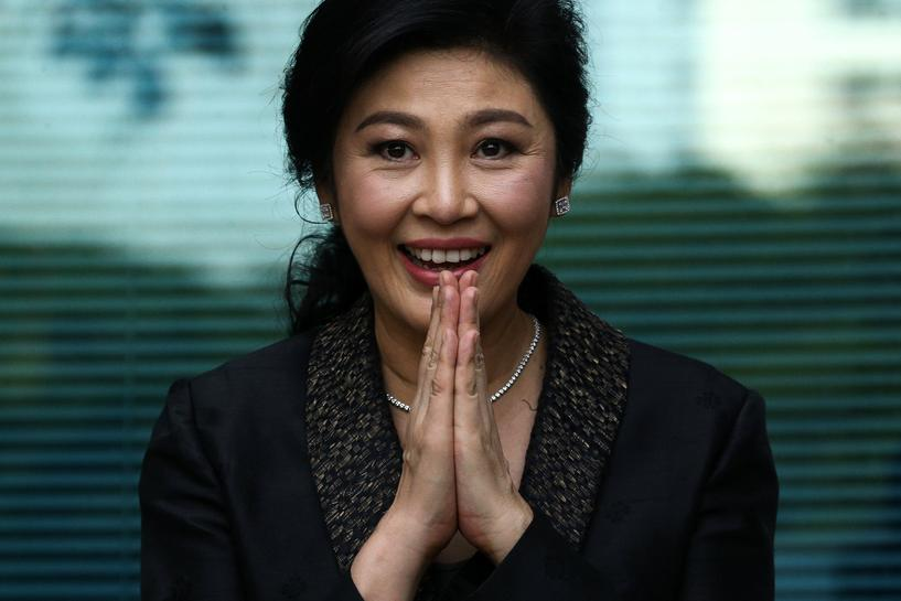 Thailand has no plan to revoke passports of former PM Yingluck, minister says