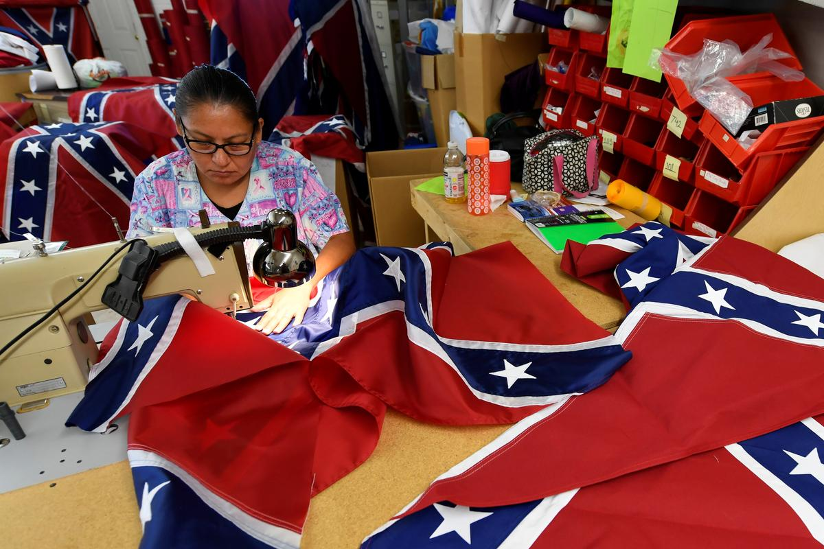 How Much Is Sales Tax In Virginia >> Confederate battle flag sales boom after Charlottesville clash - Reuters