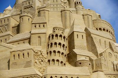 World's tallest sand castle