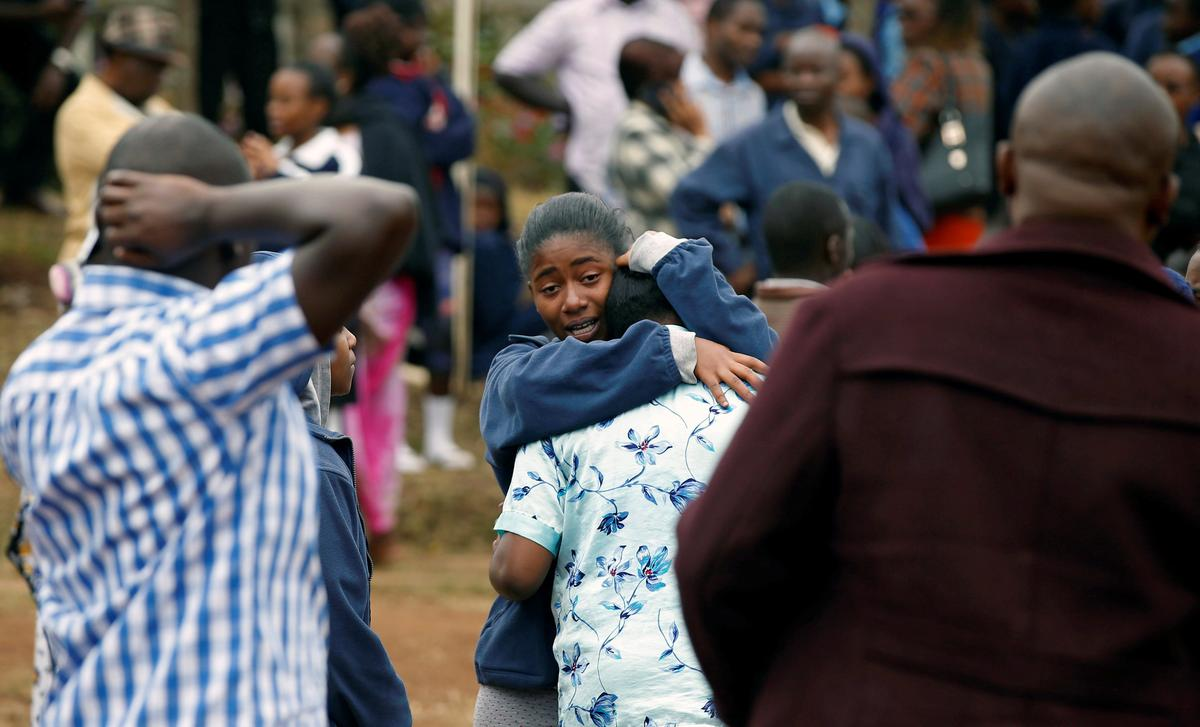 Eight Kenyan schoolgirls die in dormitory blaze: government