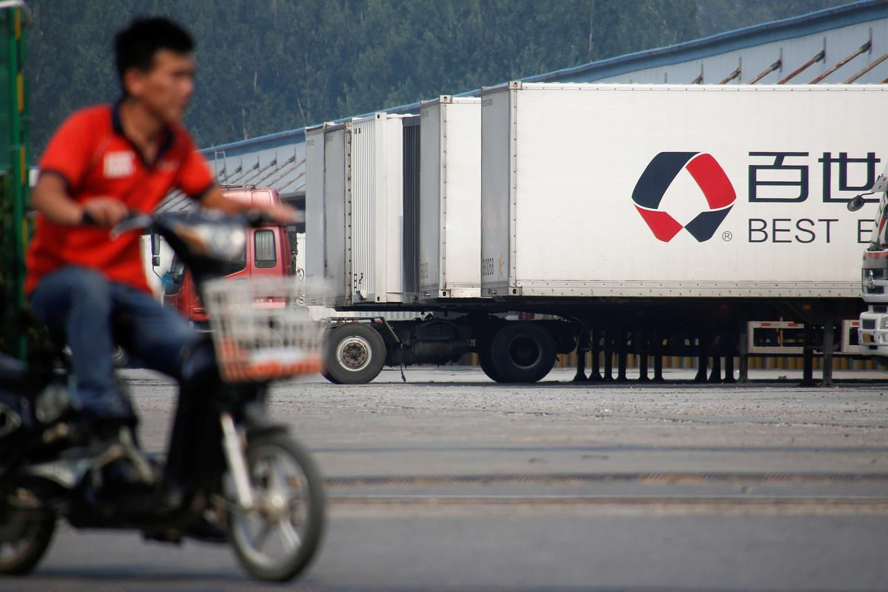 Chinese logistics firm Best, backed by Alibaba, launches