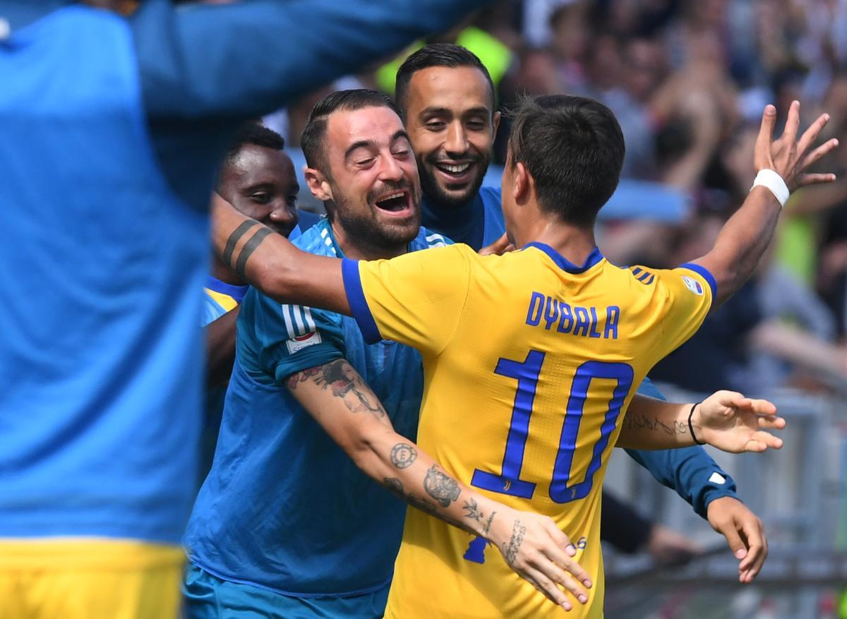 Soccer: Dybala scores second hat-trick of season as Juve ...