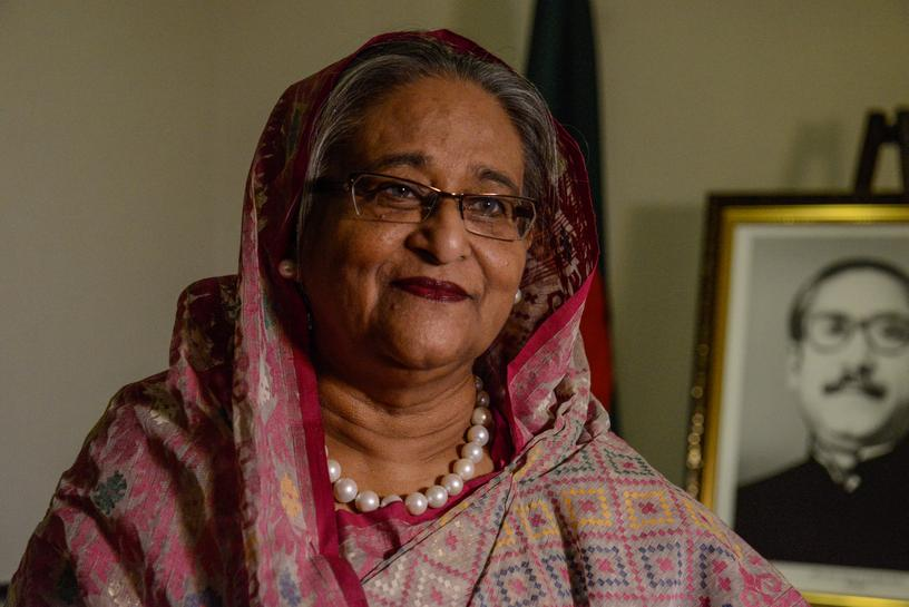 Exclusive: Bangladesh PM says expects no help from Trump on refugees fleeing Myanmar