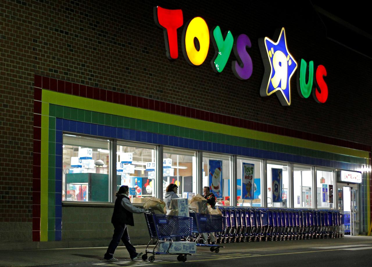 Toys R Us CEO Sees Future With Smaller Shops - Toys r us store map